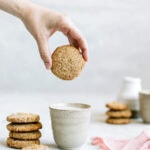 Vegan Snickerdoodles, plant based cookies