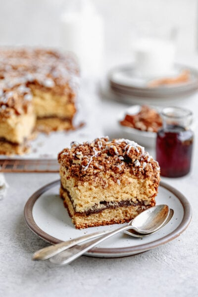 maple pecan coffee cake