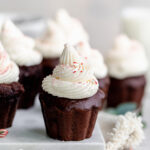 mexican hot chocolate peppermint cupcakes