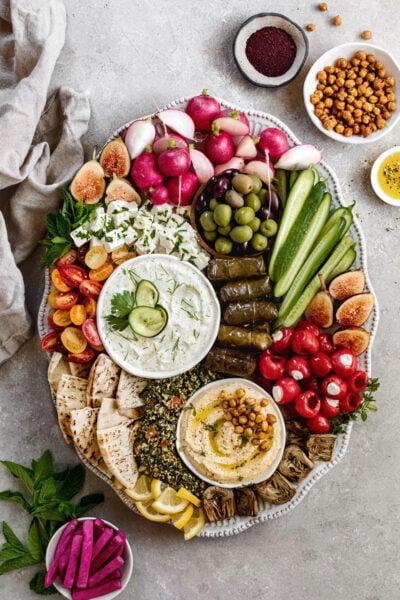 easy Mezze Platter