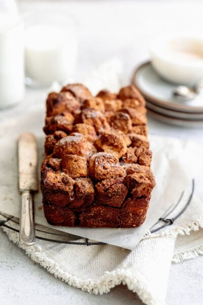 brown sugar pull apart bread