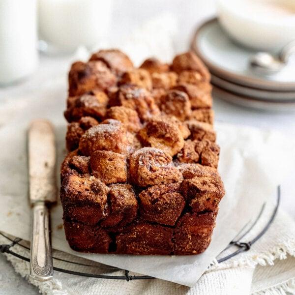 brown sugar pull apart bread