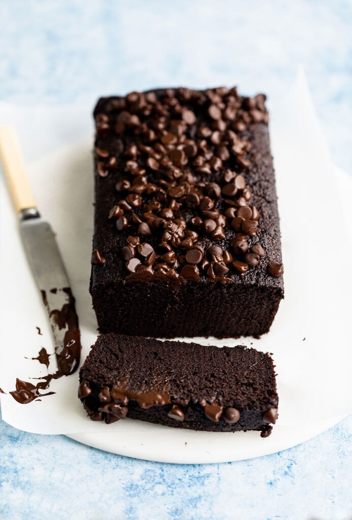 fudgy chocolate loaf cake