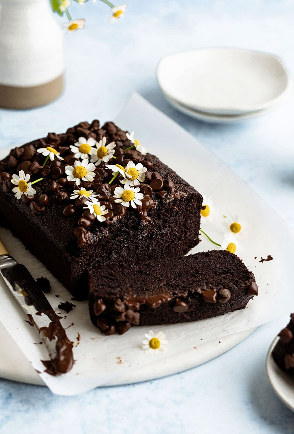 Fudgy Chocolate Loaf Cake Yoga Of Cooking