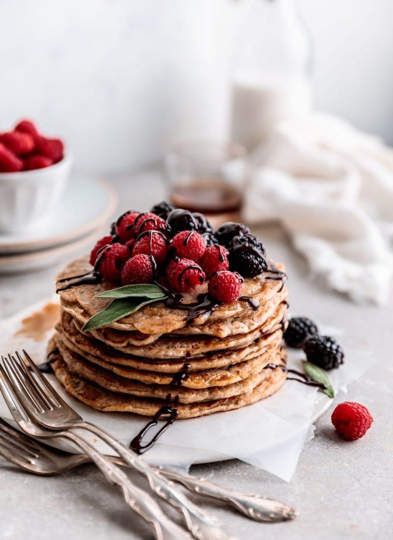 Easy Almond & Oats Pancakes