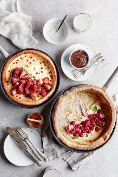 chocolate-chip-dutch baby