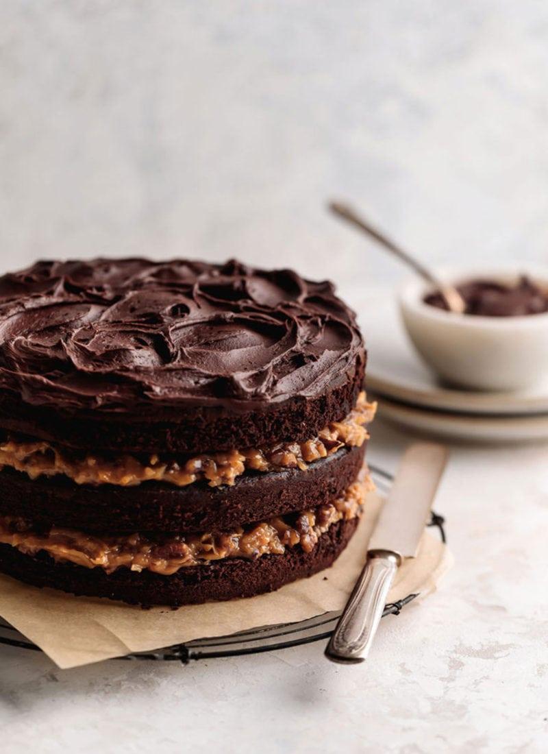 Decadent German Chocolate Cake