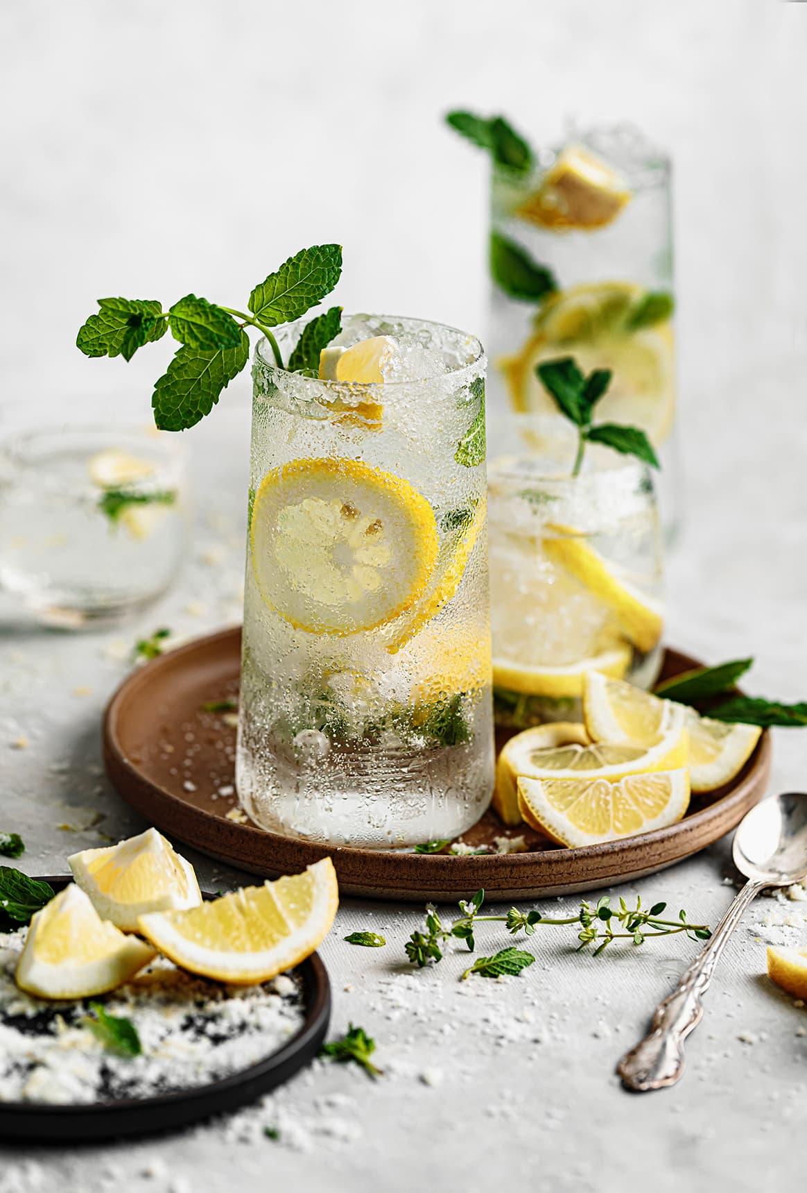 Refreshing Lemon Mojito